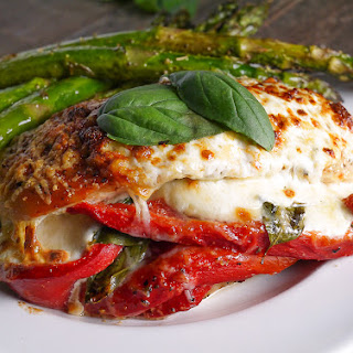 Fresh Mozzarella Basil Stuffed Chicken Recipes