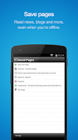 Screenshot of Opera Mini browser for Android