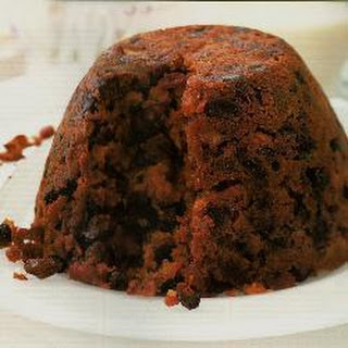 Very fruity Christmas pudding