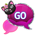 GO SMS - Plum Kitty icon