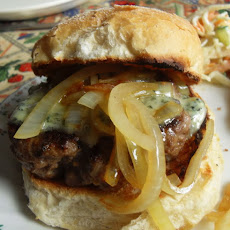 Steak Burgers with Stilton and Ale