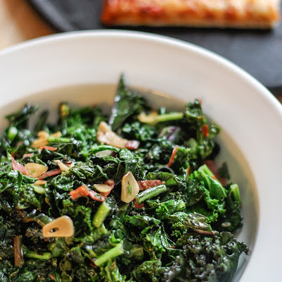 Fiery Kale with Garlic and Olive Oil