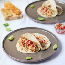 Beer-Battered Fish Tacos with Sriracha Mayo