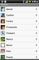 Screenshot of PhotoCaddy - Photography Guide