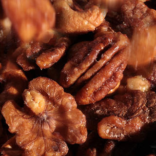 Five-Spice Glazed Nuts