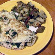 Herbed Chicken Omelet