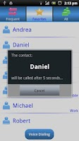 Screenshot of My Bluetooth Handsfree Demo