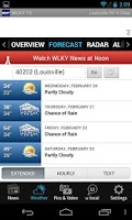Screenshot of WLKY News and Weather