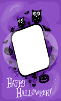 Screenshot of Halloween Frames