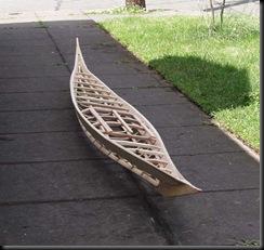 morris kayak frame