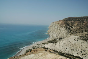 Pissouri beach village cyprus walk trek