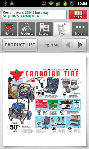 canadian-tire for android screenshot