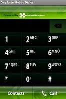 Screenshot of OneSuite Mobile Dialer