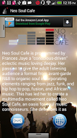 Screenshot of Neo Soul Cafe