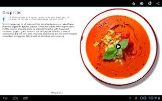 Screenshot of Talerka Video Recipes