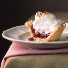 Mini Cranberry Meringue Pie