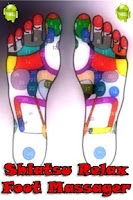 Screenshot of Shiatsu foot massager
