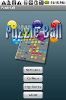 Screenshot of Puzzle Ball
