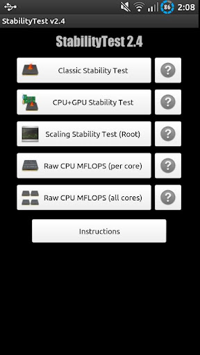 StabilityTest ROOT optional