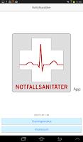 Screenshot of Notfallsanitäter