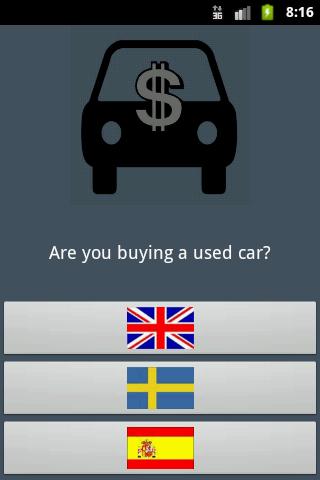 Buy used car guide