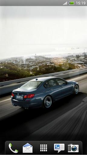 BMW M5 Live Wallpaper