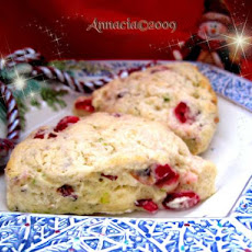 Cranberry, Orange and Pistachio Scones