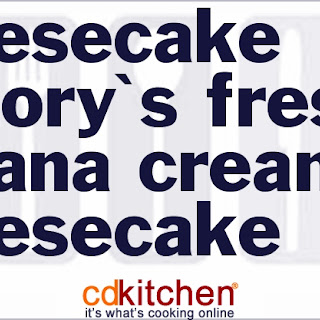 Cheesecake Factory's Fresh Banana Cream Cheesecake