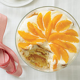 Orange Trifle with Grand Marnier Cream