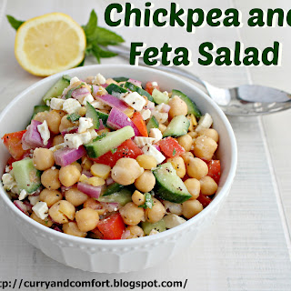 Chickpea and Feta Salad and Good Cook Giveaway