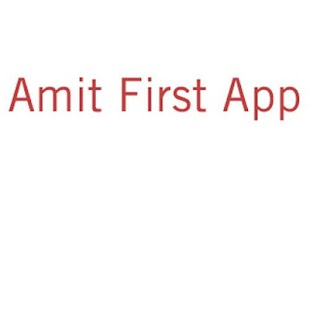 Amit Priyadarshi- First App - screenshot