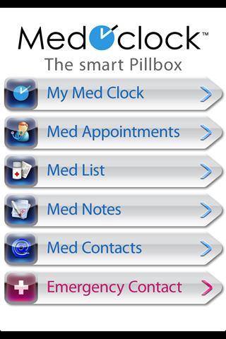 Med OClock the Pill Organizer