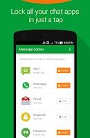 Screenshot of Message Locker – SMS Lock