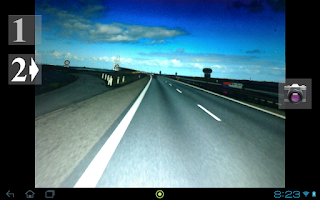 Screenshot of USB camera as Rear View Camera