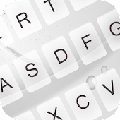 Download Clean White Keyboard Theme APK to PC