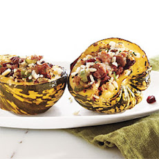Sausage and Rice-Stuffed Acorn Squash