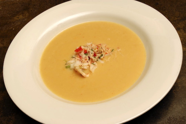 Corn and Oyster Bisque