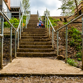 Stairs by Toyin Oshodi - City,  Street & Park  City Parks ( park, london, station, crouch, graffiti, parks, parkland, walk, end, country )