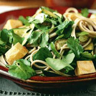 Noodles With Tofu & Green Vegetables