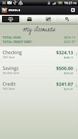 Screenshot of mooLa! (Checkbook & Finance)