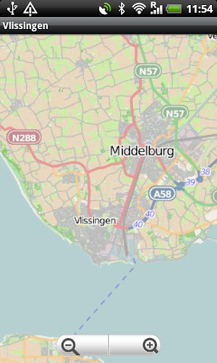 Vlissingen Middelburg Map