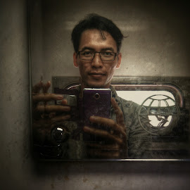 selfie by Idenz Kusuma - People Portraits of Men ( Selfie, self shot, portrait, self portrait )