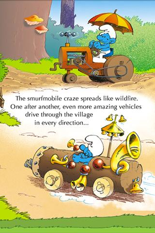 【免費漫畫App】The Smurfs - Smurfmobile Race-APP點子