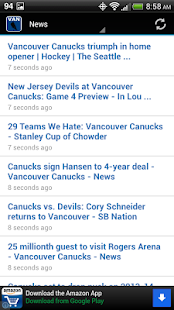 Vancouver Hockey - screenshot