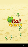 Screenshot of Rail Alarm