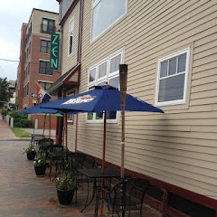 Out door dinning is available in the Summer