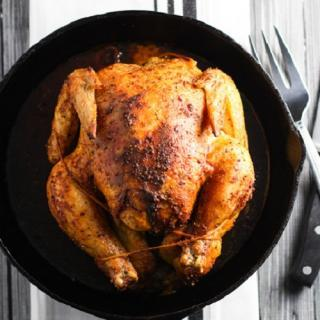 Easy Roasted Chicken - gluten-free