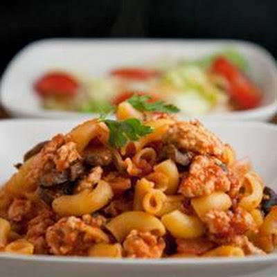 Turkey Mince Pasta