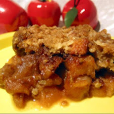 Easy Crunchy Apple Crisp
