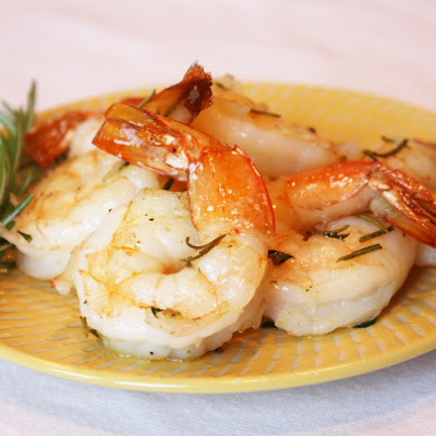 Roasted Shrimp w/ Rosemary & Thyme